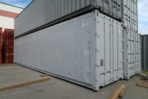 40 Ft High-Cube Container W/ Non-working Refrigerator