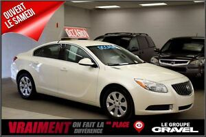 2012 Buick Regal Blanc diamand bluetooth semi-cuir mag