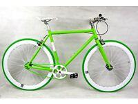 Brand new NOLOGO Aluminium single speed fixed gear fixie bike/ road bike/ bicycles qq5