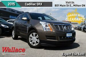 2015 Cadillac SRX 1-OWNER TRADE/HEATED SEATS/8-INCH SCREEN/BOSE
