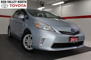 2012 Toyota Prius v Base Btooth BU Camera Pwr Wndws Mirrs Locks