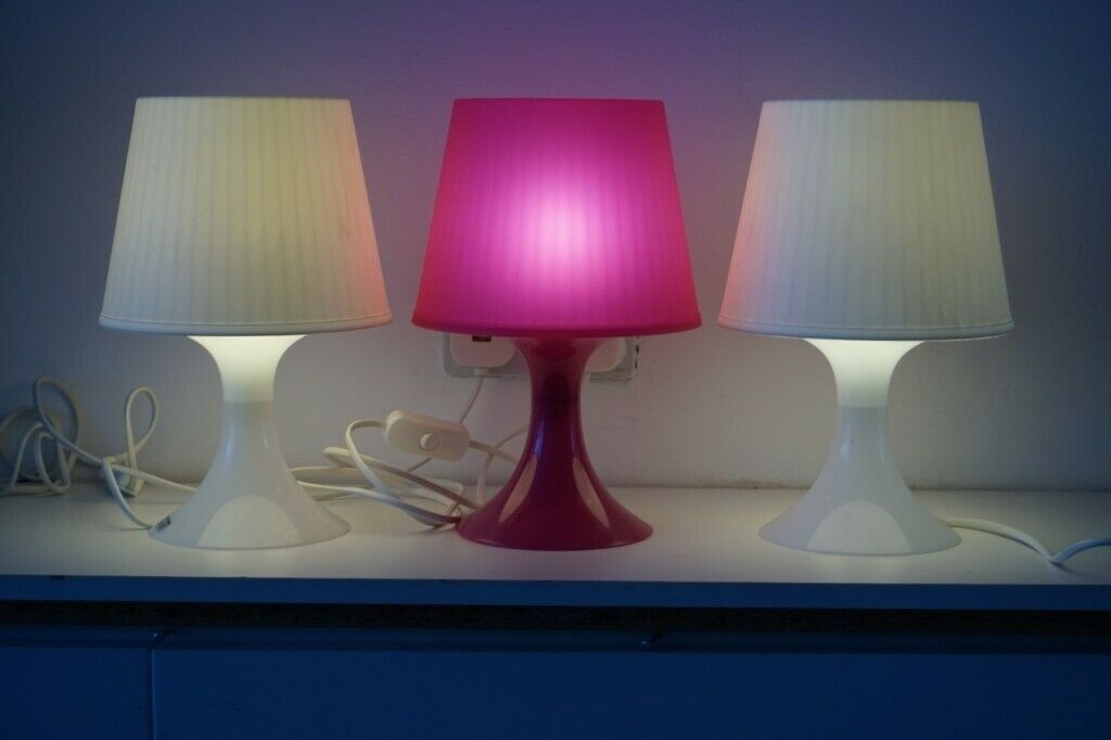 Bedside Lamps x3 Mood lighting (Canton, Cardiff) | in Victoria Park, Cardiff | Gumtree