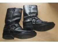 harley davidson boots size 7-7half