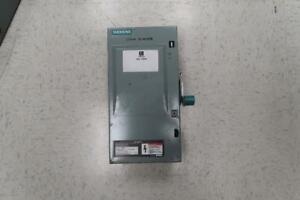 Siemens 30 amp Fused Disconnect