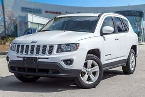 2016 Jeep Compass HIGH ALTITUDE, LEATHER, ROOF, 4X4