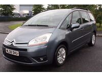 2008 CITROEN GRAND C4 PICASSO 7 VTR+, 1.8 PETROL, 7 SEATER MPV, LONG MOT, CAMBELT DONE, ONLY 62K !!!