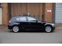 BMW 1 Series 1.6 petrol Black A/C (low price for quick sale)