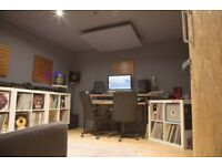 MUSIC STUDIOS FOR MID/LONG TERM HIRE, acoustically treated, 24/7 access, £187 pw