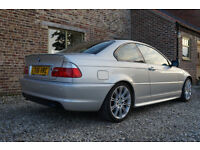 2006 06 BMW M SPORT E46 3 Series 320CD Coupe Manual Diesel in Silver in VGC