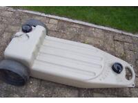 Wastemaster waste water trolly carrier