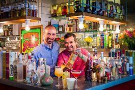 Bartender - Lively Pisco Bar in Soho, London