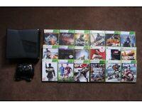 Xbox 360 Slim, 250GB, HDMI + 18 Games, GTA V, Forza, Fifa, Battlefield, COD etc