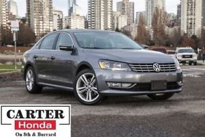 2014 Volkswagen Passat 1.8 TSI Highline + NAVI + LEATHER + BACKU