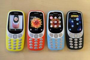 Nokia 3310, Loud Volume, Bright Buttons, Compaq Size, Available in Various Colors, INBUILT WHATSAPP