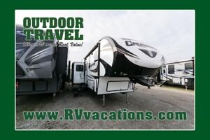2018 FOREST RIVER CRUSADER 337QBH $215.04 Bi-weekly OAC