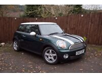 2007 Mini Cooper Chili Pack 6 Months MOT and Full Service History