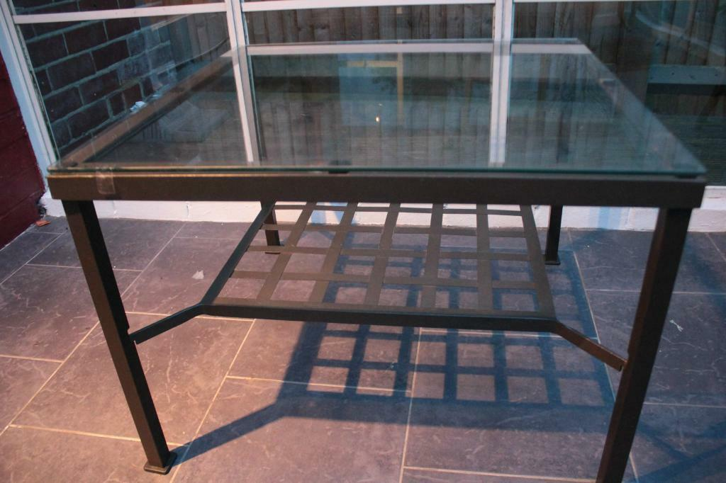 Ikea Glass Metal Coffee Table Ikea Granas Glass Metal Coffee