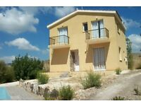 Attractive Villa in Choletria Village, Paphos, Cyprus