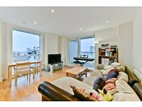 Luxurious 2 bed, 2 bath moments from Canary Wharf with concierge and a large balcony LT REF: 950893