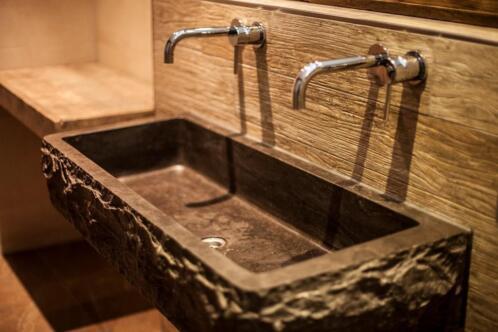 ≥ Wasbak hardsteen, natuursteen wastafels op maat gemaak - Badkamer ...