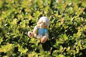 Teddy bear ornament cute tiny decoration