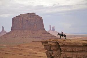 """Beautiful 24""""x36"""" High Definition """"NAVAJO HORSEWOMAN"""" Picture."""