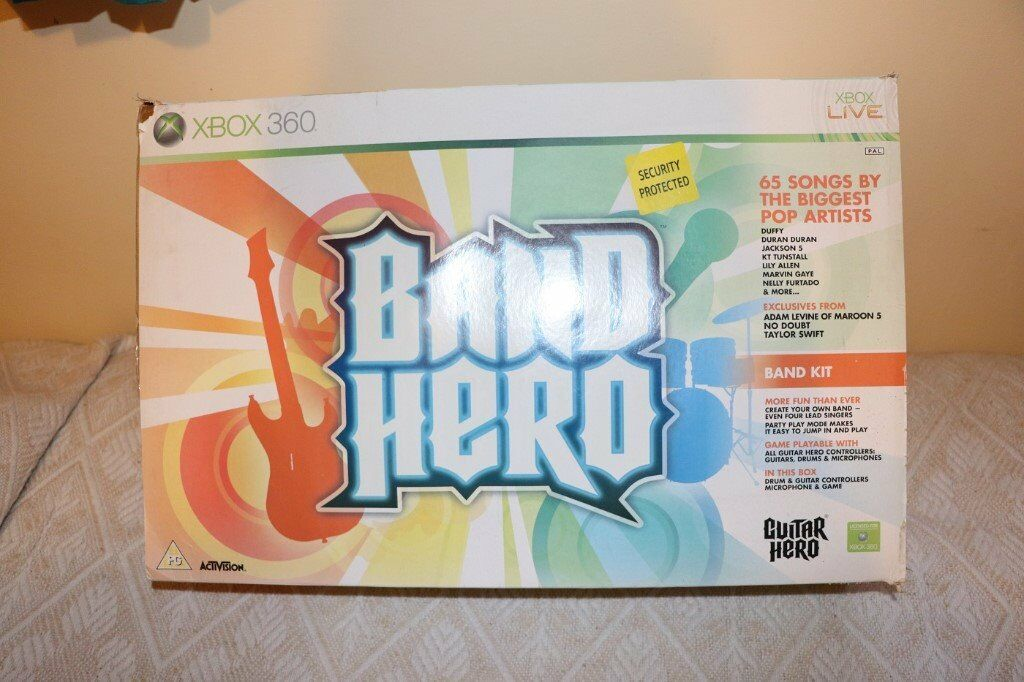Band Hero drums and guitar pack