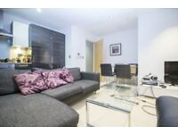 STUNNING 2 BEDROOM FLAT WITH SPACIOUS PRIVATE BALCONY, FURNISHED IN STREAMLIGHT TOWER, CANARY WHARF