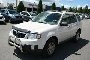 2010 Mazda Tribute GT V6 4X4 **CUIR/TOIT** COMME NEUF 91 911KM*