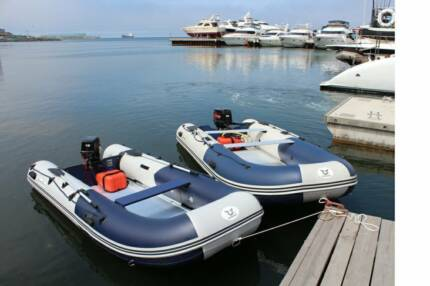 New Zongshen Inflatable Boat Dinghy Aluminium Floor Free Delivery Brisbane City Brisbane North West Preview