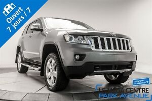2012 Jeep Grand Cherokee Overland CUIR BRUN * PROMO PNEUS D'HIVE