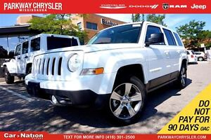 2016 Jeep Patriot HIGH ALTITUDE| 4X4| HEATED SEATS| SUNROOF| NAV