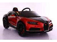 Bugatti Chiron Style electric 12v ride on car with parental control