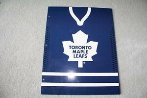 BRAND NEW - TORONTO MAPLE LEAFS 2-POCKET FOLDER