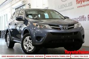 2013 Toyota RAV4 SINGLE OWNER LOW MILEAGE LE