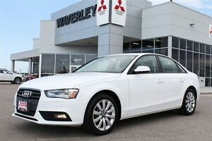 2014 Audi A4 2.0/AllWheelDrive/Leather/Sunroof