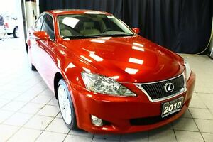 2010 Lexus IS 250 *LTHR*MOONROOF*ECP*4 WINTER TIRES ON RIMS