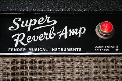 Super Reverb Blackface Mod Kit for Vintage Fender Silverface