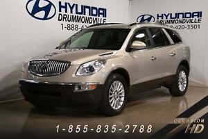 2010 Buick Enclave CX + 7 PASSAGERS + MAGS 19 + CAMERA RECUL + W