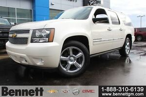 2013 Chevrolet Suburban LTZ - Heated and cooled seats, and 2 DVD