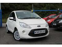 FORD KA 1.2 Zetec **2 LADY OWNERS+���30 A YEAR TAX** (white) 2012