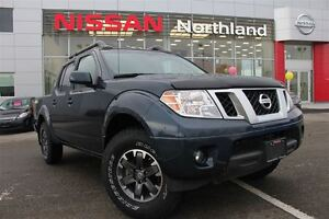 2015 Nissan Frontier PRO4X Leather/ Navigation/ Sunroof/ Box Lin