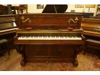Decorative antique French piano - Delivery available uk wide