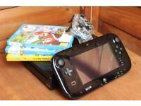 Nintendo wii U console bundle + 3 games