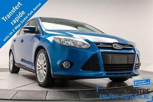 2012 Ford Focus Titanium * PROMO PNEUS D'HIVER * PUSH START, CUI