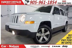 2016 Jeep Patriot HIGH ALTITUDE  REMOTE START  SUNROOF  HTD SEAT