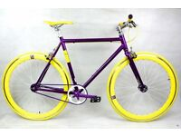 Brand new NOLOGO Aluminium single speed fixed gear fixie bike/ road bike/ bicycles z0