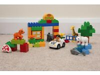 100% GENUINE! 100% Complete! LEGO Duplo My First Zoo (6136)