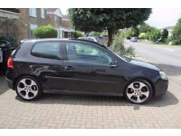 Black Golf GTI petrol, Great drive, Brakes / Caliphers changed 2000 miles ago.