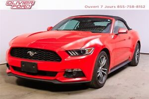 Ford Mustang ecoboost premium, rwd, cuir, nav, a/c 2015